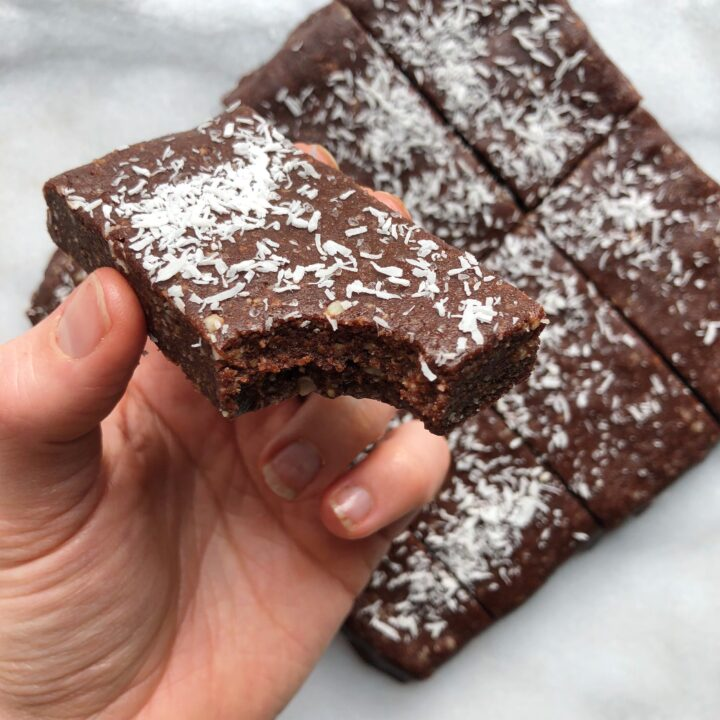 Chocolate Coconut Bliss Bars