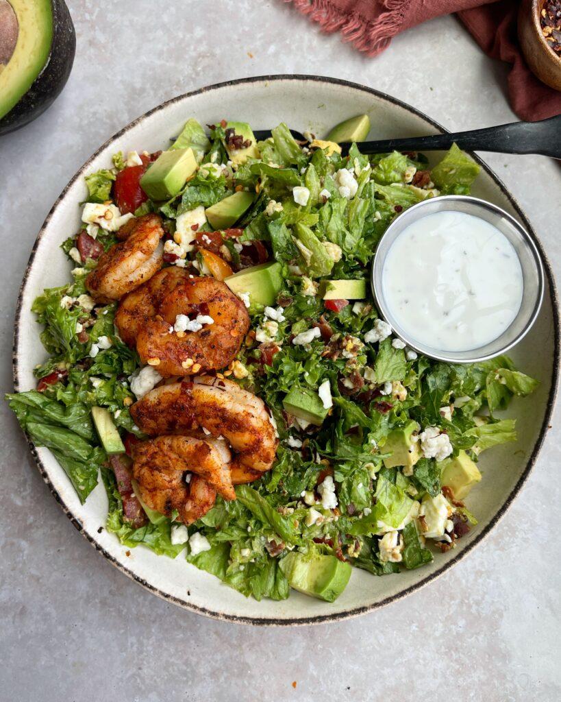 Chopped Shrimp Cobb Salad