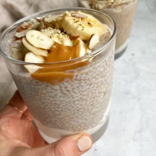 Banana Almond Chia Pudding
