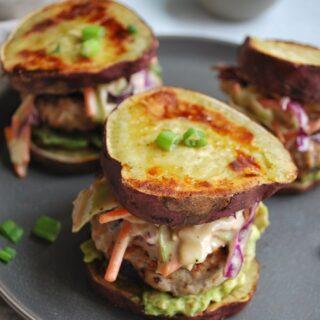 BBQ Chicken Sweet Potato Sliders