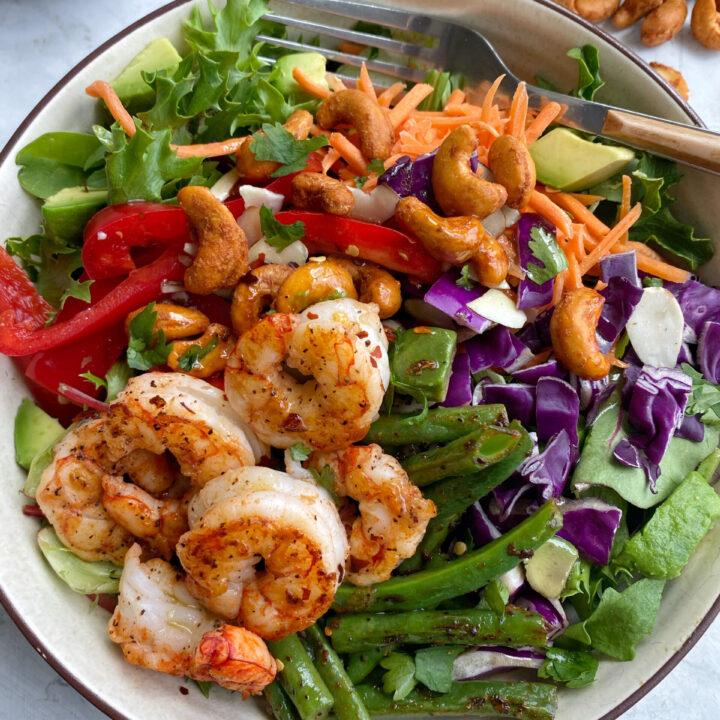Thai Sesame Shrimp Salad