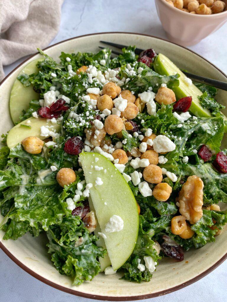 Fall Kale Salad Bowl
