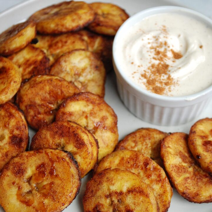 Cinnamon Sugar Plantains