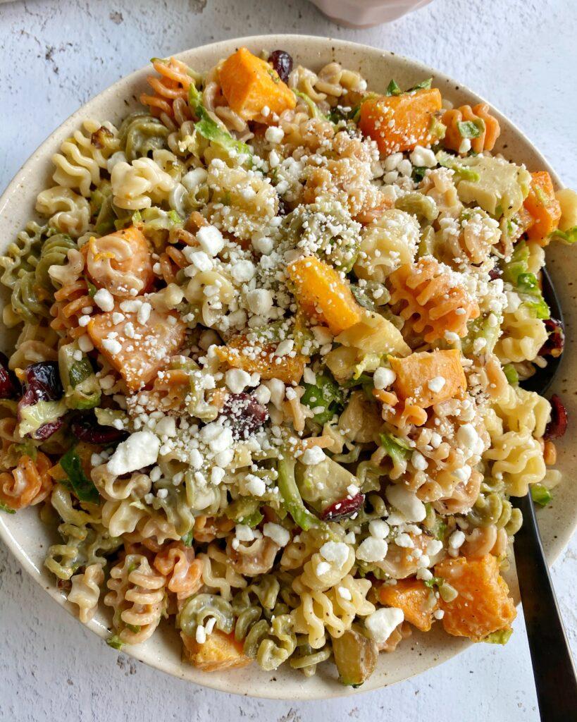 Fall Pasta Salad Bowl