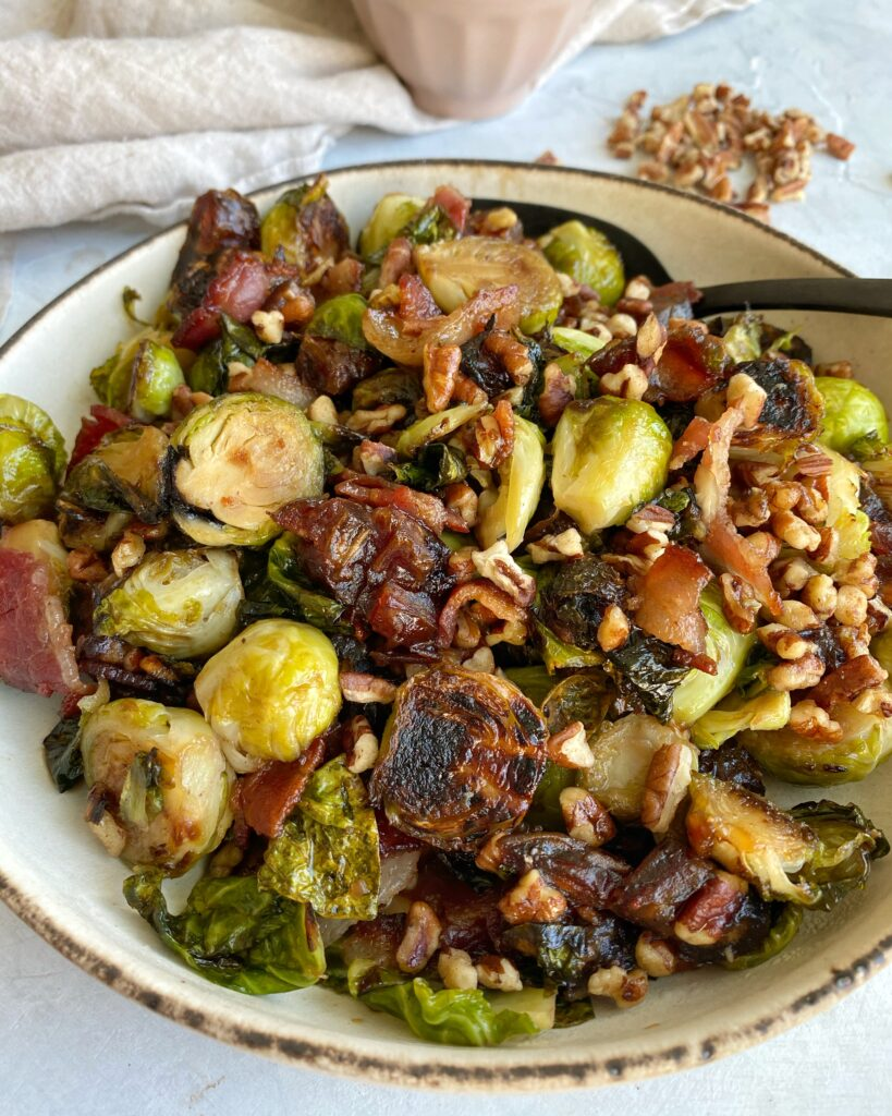 Holiday Brussels sprouts Bowl