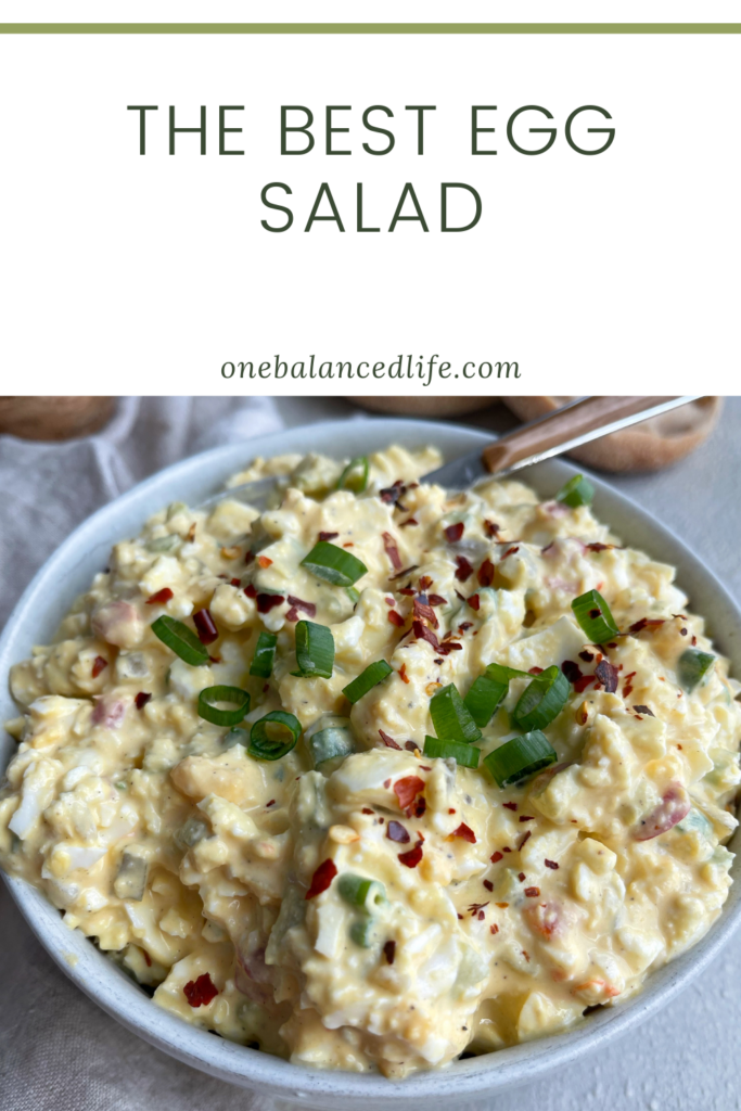 The Best Egg Salad Pinterest