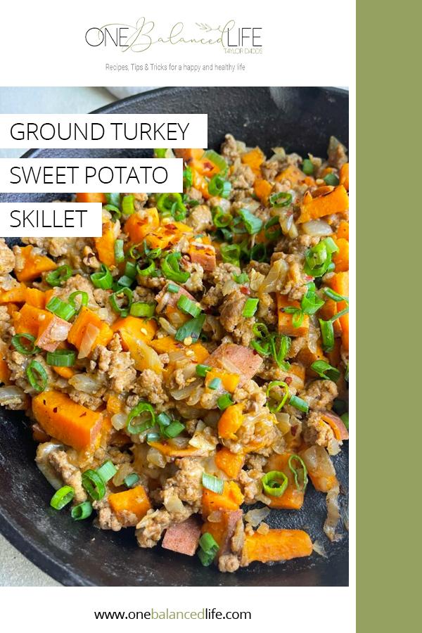 Ground Turkey Sweet Potato Skillet Pinterest