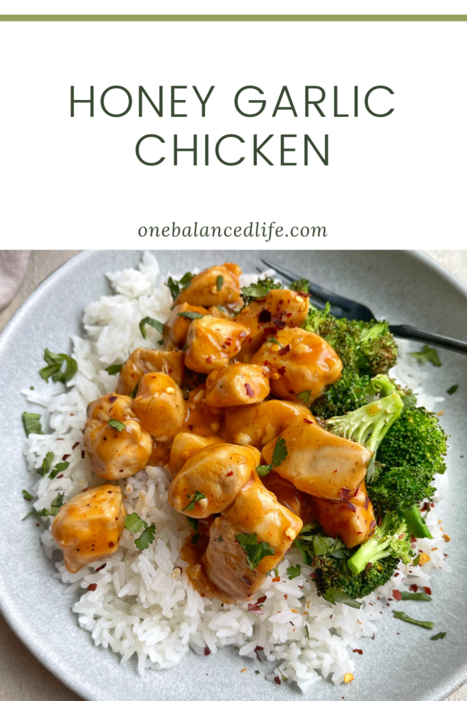 Honey Garlic Chicken Pinterest
