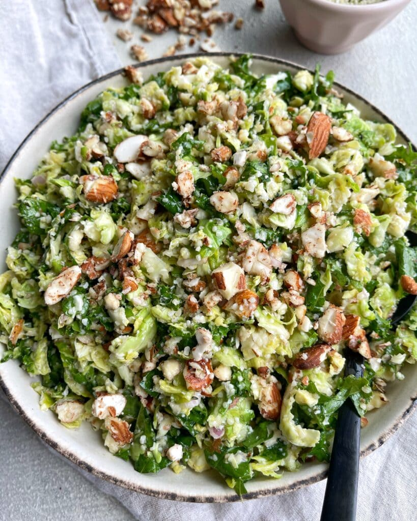 Kale Brussels Salad