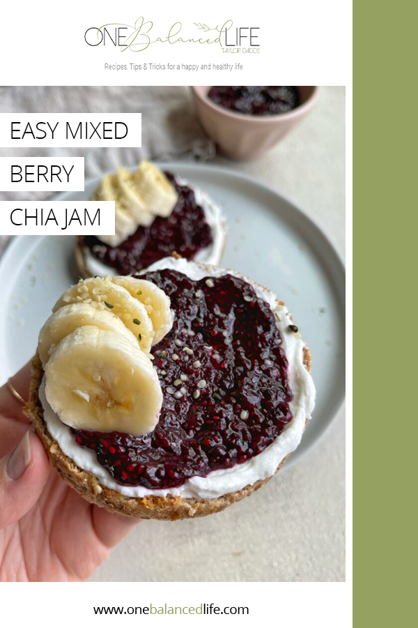 Mixed Berry Chia Jam Pinterest