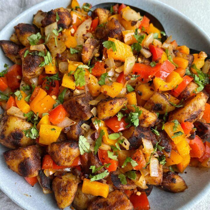 Southwestern Breakfast Potatoes
