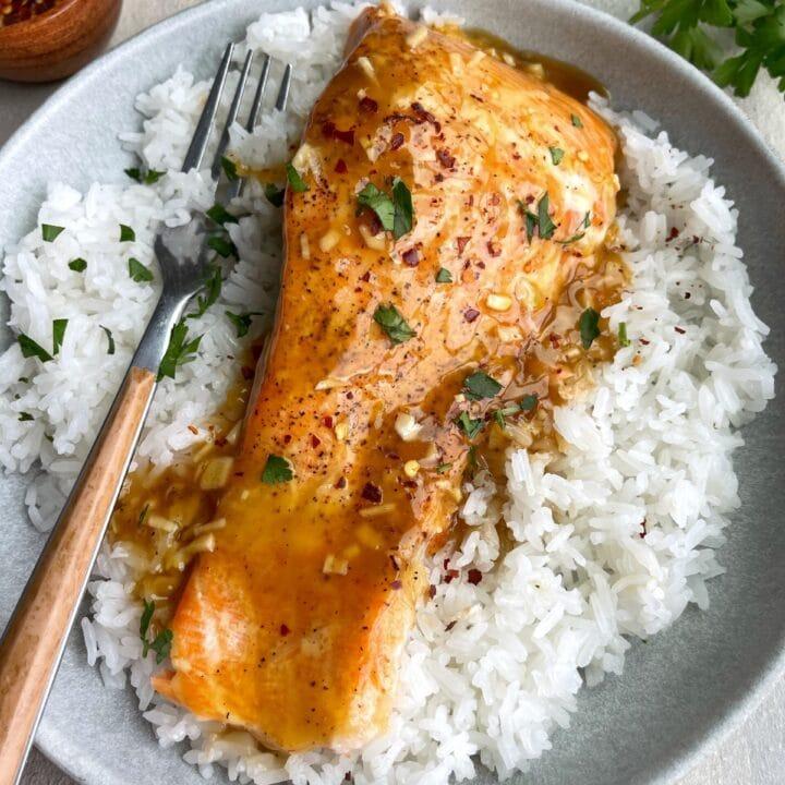 Honey Orange Salmon