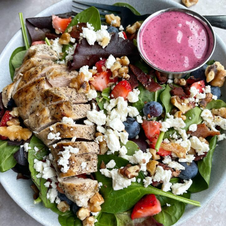 Summer Berry Chicken Salad