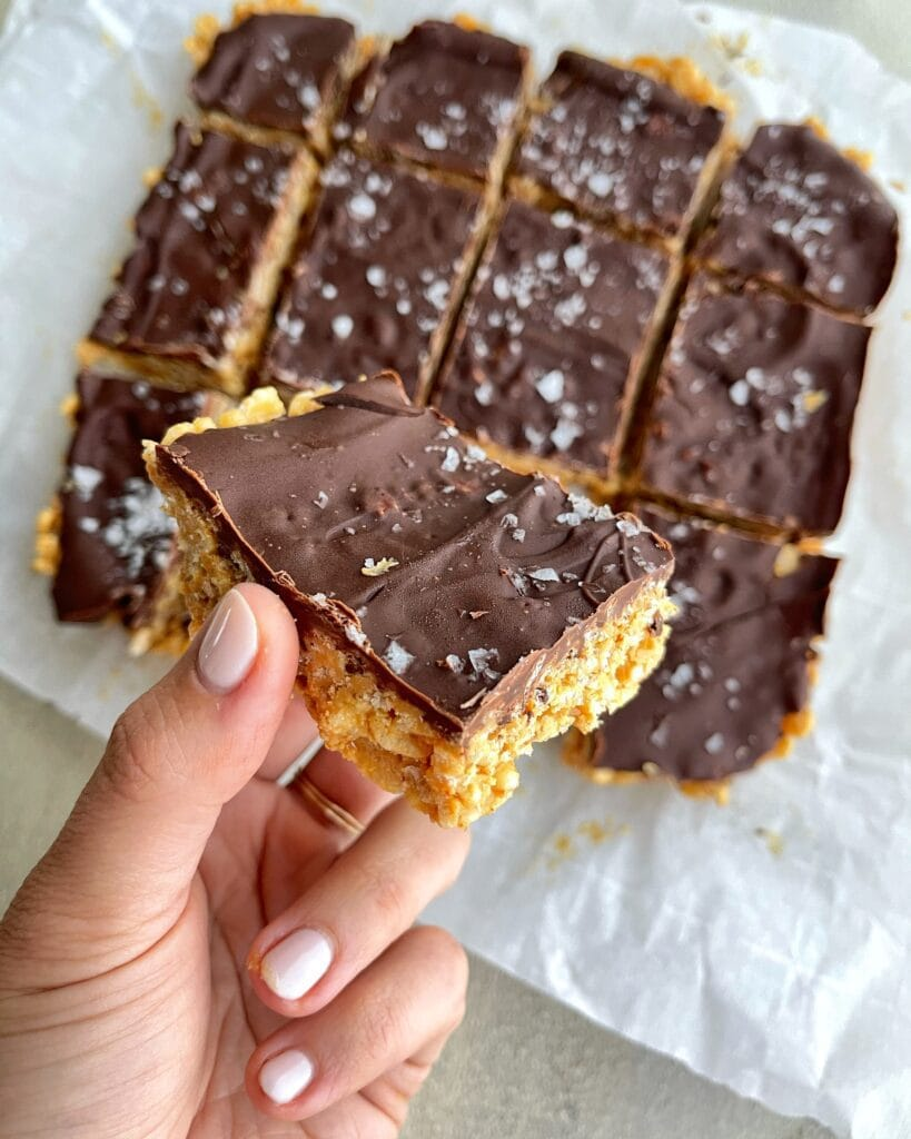 Peanut Butter Chocolate Crisps