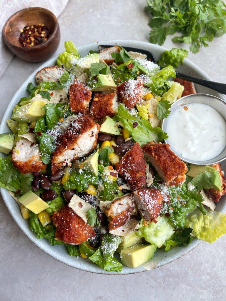 BBQ Chicken Salad Bowl