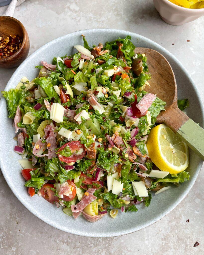 Italian Chopped Salad Bowl